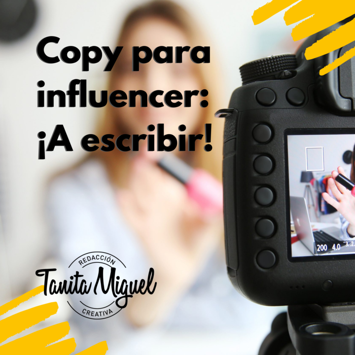 Copy para Influencer